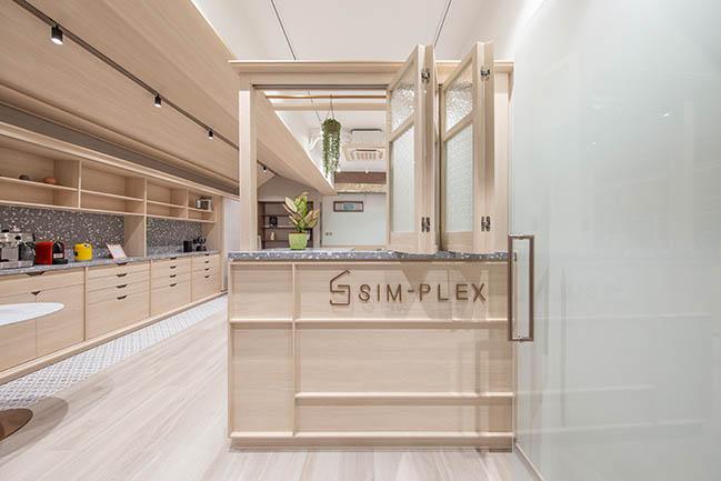 Sim-Plex Afflatus by Sim-Plex Design Studio