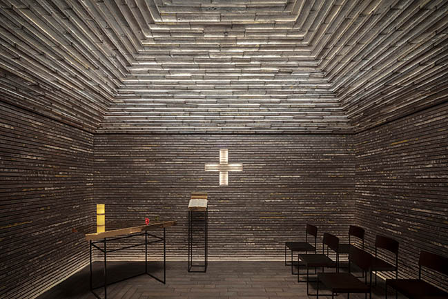 Room of Silence by gmp architekten and Hubert Nienhoff with Hans Joachim Paap
