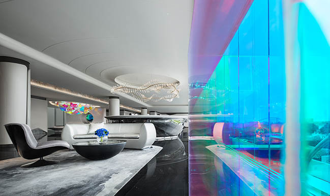 Sales Center of Poly F.S. Skyline Garden by T.K. Chu Design