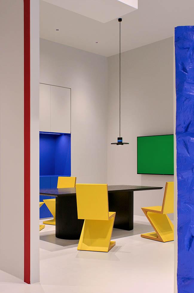 Benjamin Moore Experience Center, Jinhua by NDB DESIGN STUDIO