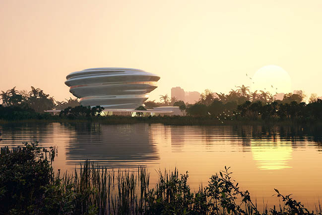 MAD Architects Unveils Design for Hainan Science and Technology Museum