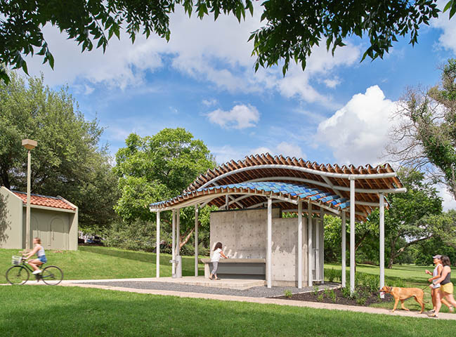 Festival Beach Restroom by Jobe Corral Architects