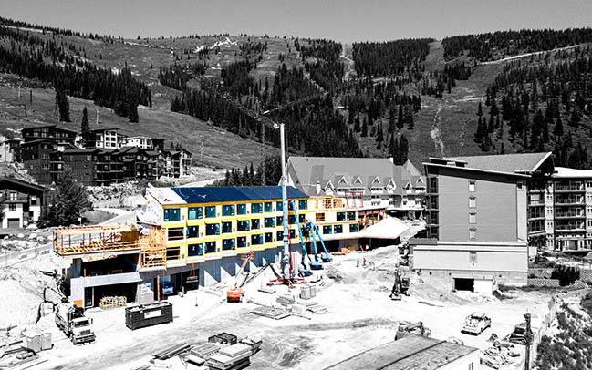 Humbird at Schweitzer Mountain Resort by Skylab