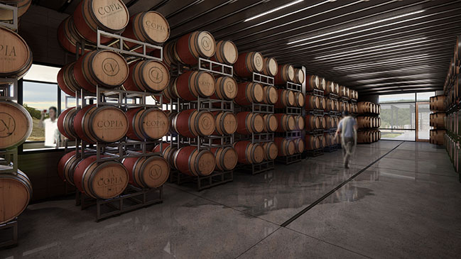 Copia Vineyards Winery and Tasting Room by Clayton Korte