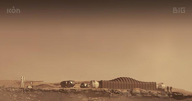 Mars Dune Alpha: 3D-printed habitat designed by BIG-Bjarke Ingels Group