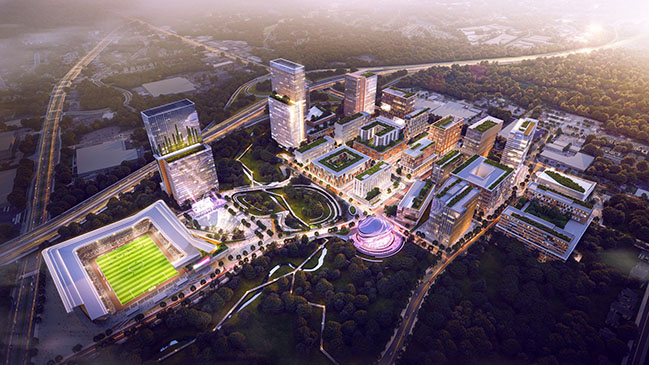 10 Design reveals scheme of North Carolina masterplan led by design partner Ted Givens in Miami