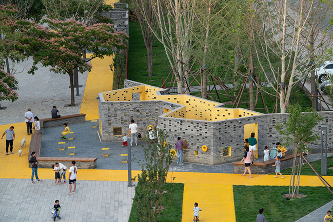 Songzhuang Micro Community Park by Crossboundaries: Urban Rooms for Social Encounter