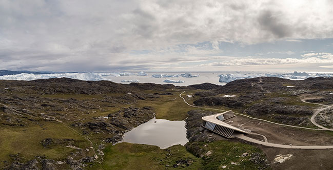 Ilulissat Icefjord Centre by Dorte Mandrup completed