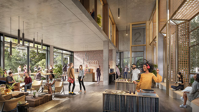 La Fabrica Mixed Use by Foster + Partners