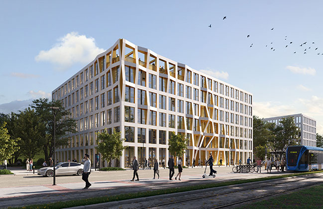 HWKN announces concept for Spirit office spaces in Germany