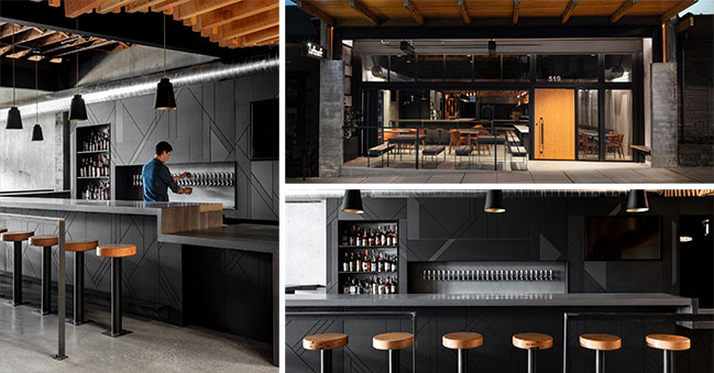 Leftcraft Taproom by Graham Baba Architects