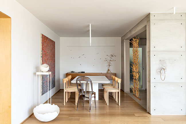 Home as a temple by Patricia Martinez Architecture