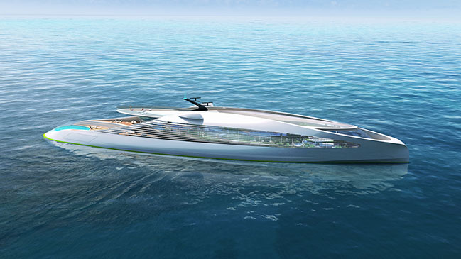 3deluxe launches the first zero-emission super-yacht at the Monaco Yacht Show - as NFT