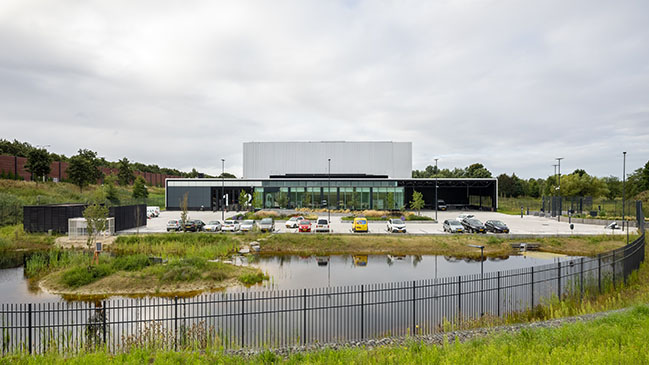 Collection Centre Netherlands by cepezed opened