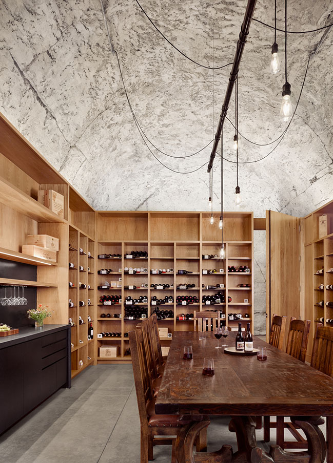 Hill Country Wine Cave by Clayton Korte