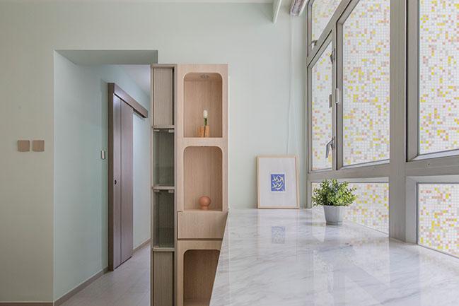 Floral Aged House by Sim-Plex Design Studio