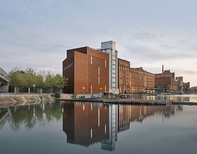 New Extension of the MKM Museum Küppersmühle by Herzog & de Meuron Has Opened