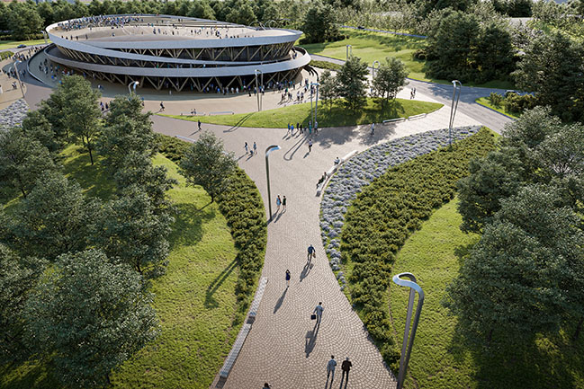 ENOTA & OUD+ Architects won the architectural competition for new Prishtina Sports Hall