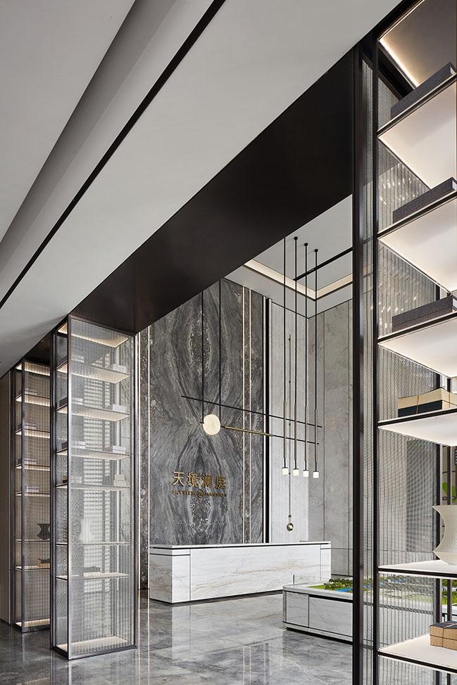 Skyview Mansion Sales Center by F.G STUDIO