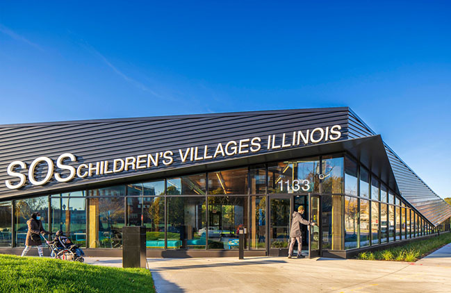 SOS Children's Villages - Roosevelt Square by JGMA