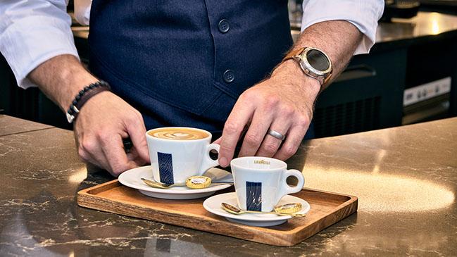 Caffetteria at Lavazza London Flagship by CRA-Carlo Ratti Associati | The Social Proximity Cafe