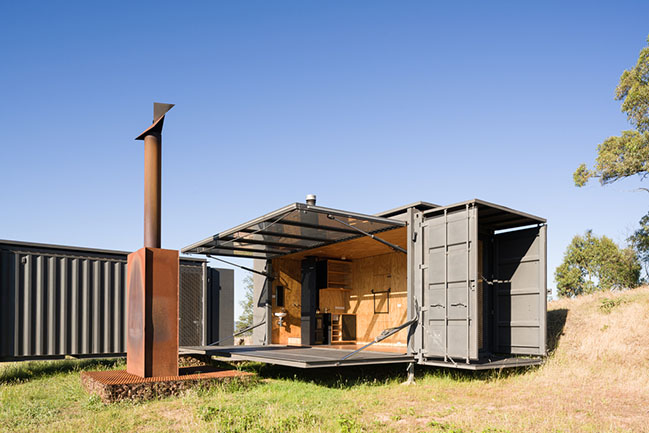Shipping Container Tiny House by Robbie Walker