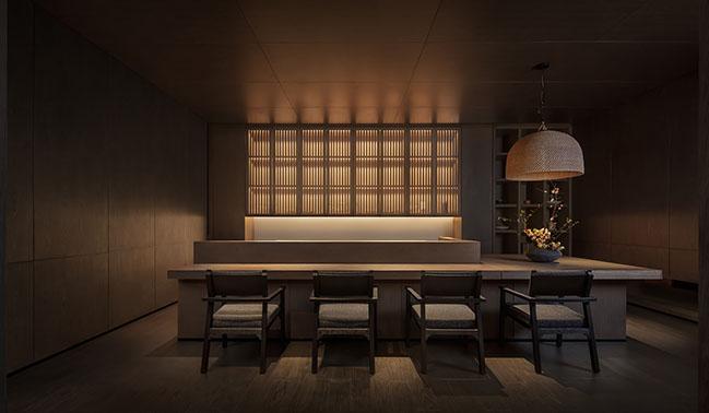 KUROGI - Michelin-starred Japanese restaurant by CCD / Cheng Chung Design (HK)