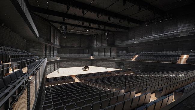 Gasteig HP8 Isarphilharmonie concert hall by gmp Architekten completed