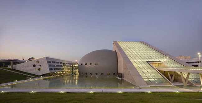 The Presidential Symphony Orchestra Concert Hall by Uygur Architects