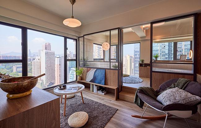 Apartment in Peace Avenue by littleMORE Interior Design