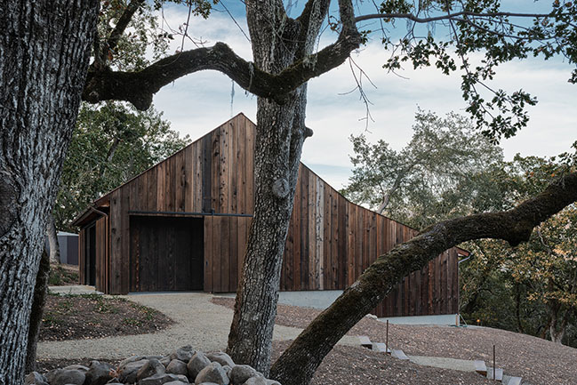 Tack Barn by Faulkner Architects
