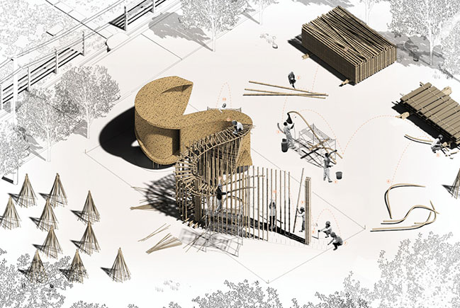 Bamboo Pavilion by LIN architecture