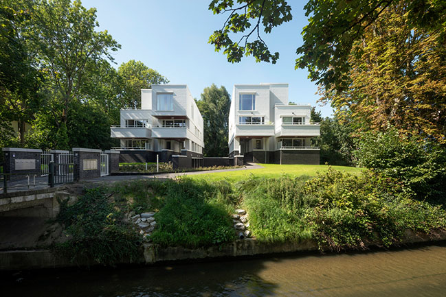 Appartmentvilla Parklaan Sittard by Humblé Martens Willems Architecten