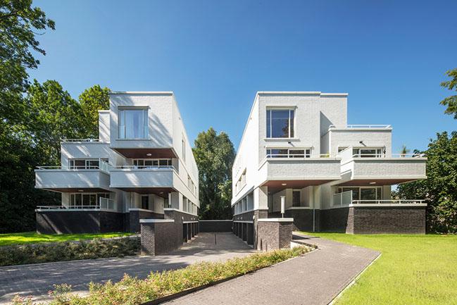 Appartmentvilla Parklaan Sittard by Humblé Martens & Willems Architecten