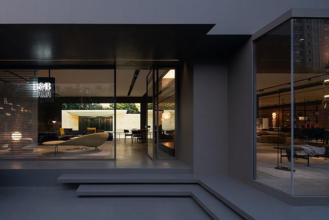 BeB Italia Showroom, Ningbo by OUTIN. DESIGN