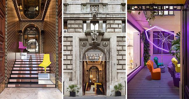 Versace Home: new flagship in Milan by Vudafieri-Saverino Partners