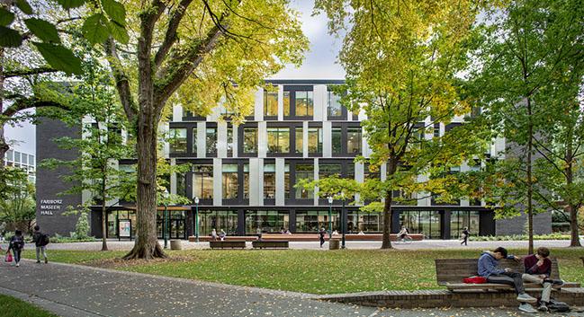 Fariborz Maseeh Hall at Portland State University by Hacker