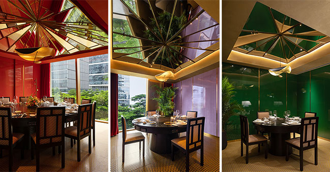 Man Chao Hui by Various Associates | A Modern Luxury Catering Space in an Oriental Context