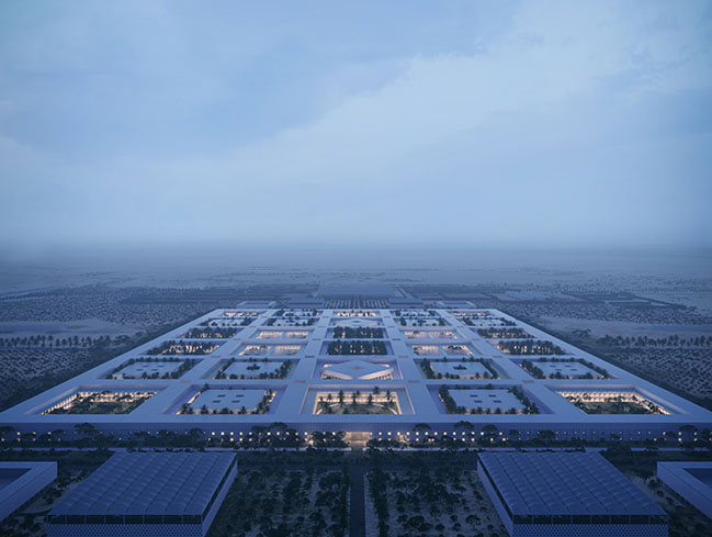 OMA / Reinier de Graaf and Buro Happold Reveal Design for Health District in Doha