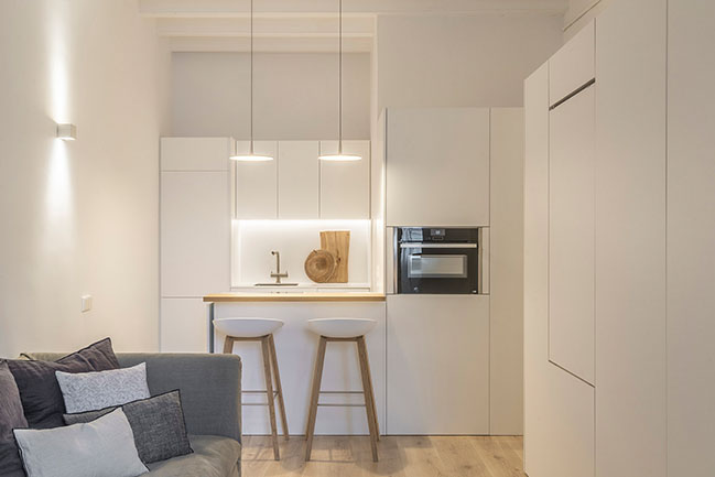 Capsule, new interior design project in Barcelona by Susanna Cots