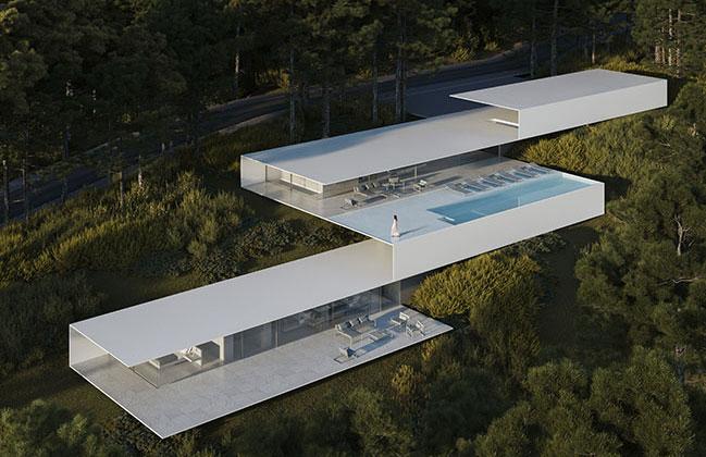 Roca Views Ibiza by Fran Silvestre Arquitectos