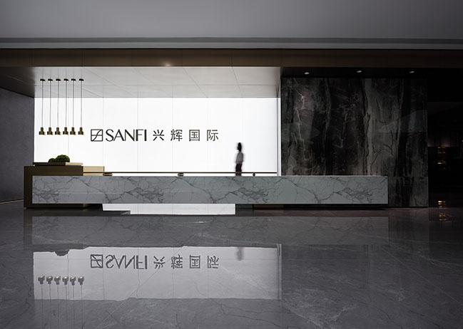 SANFI Headquarters by FOSHAN TOPWAY DESIGN