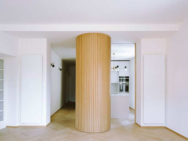 Margine completes a home-studio with a jazz soul in Rome