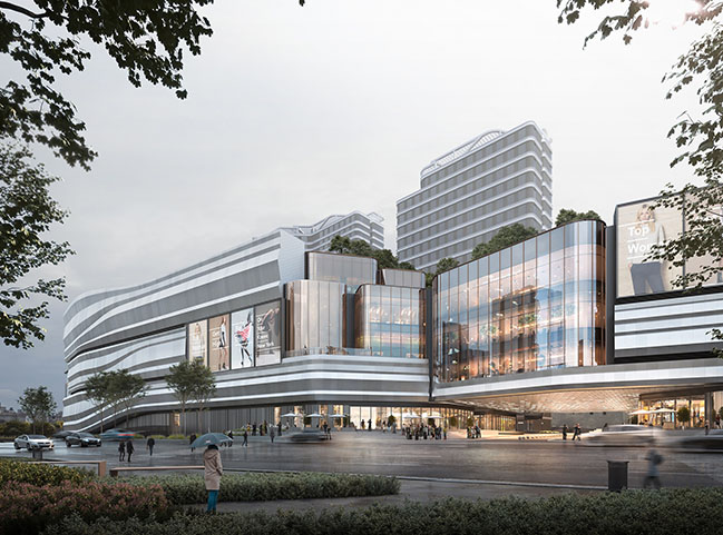 10 Design Reveals Mixed-use Outdoor Retail Destination in Kunming, China