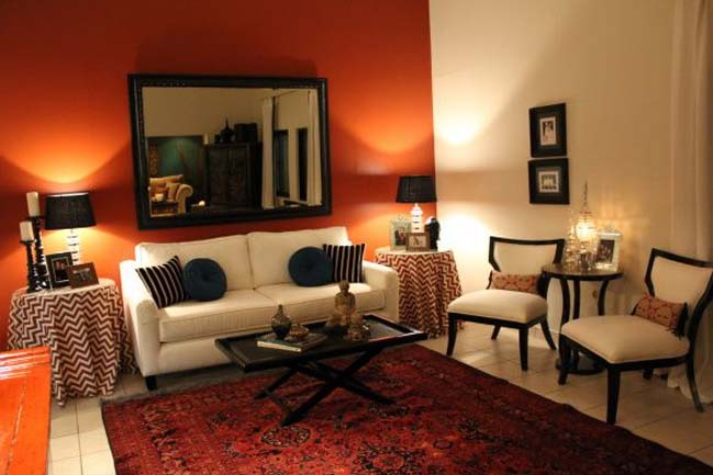 white and orange living room 15 living rooms with white and orange colors 22372