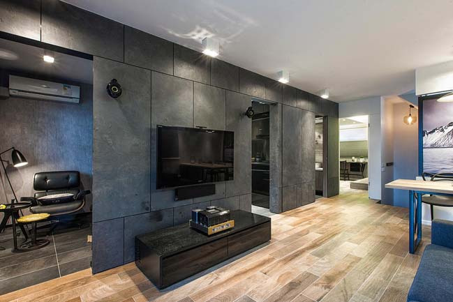 Modern Apartment Interior Design By
